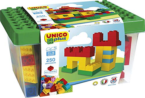 Unico Plus 8525 – Box mit Bausteinen...