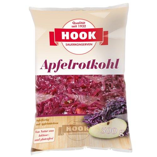 HOOK - Apfelrotkohl - 500g (5 Beutel)