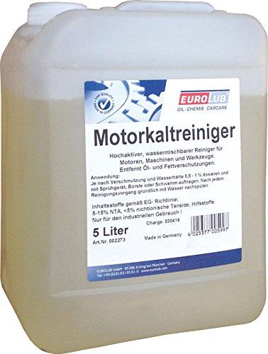 EUROLUB Motorkaltreiniger, 5 Liter
