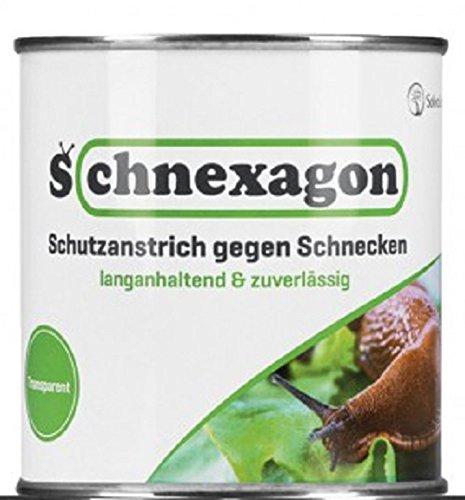 Schnexagon 2X 375ml Schutzanstrich gegen Schnecken...