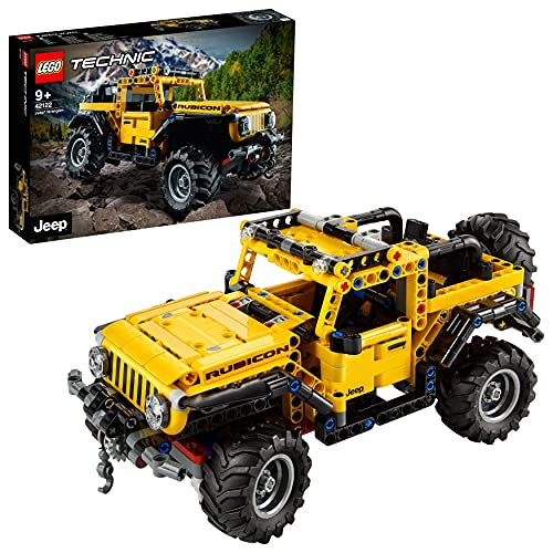LEGO 42122 Technic Jeep Wrangler 4x4...