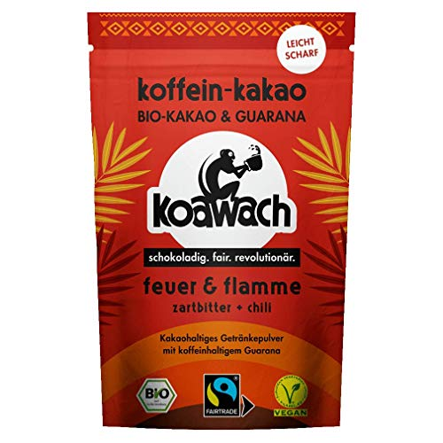 koawach, Bio Getränkepulver Feuer & Flamme, Kakao...