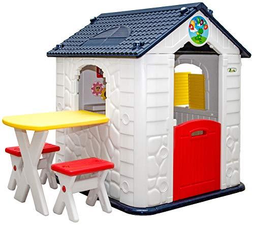 LittleTom Kinder Spielhaus ab 1 - Garten...