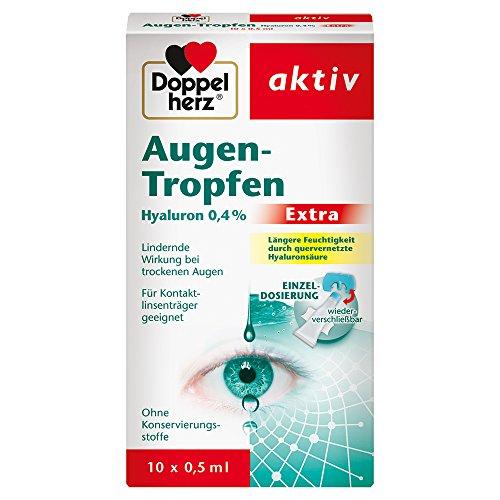 Doppelherz Augen-Tropfen Extra Hyaluron 0,4 % –...
