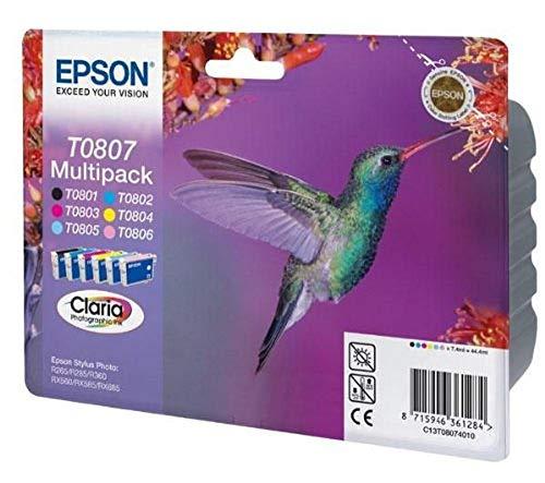 Epson Original T0807 Tinte Kolibri (Stylus Photo...