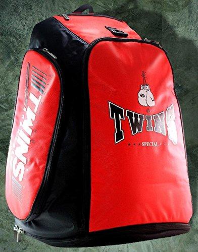 Twins Rucksack für Thaiboxen, Kickboxen, Rot
