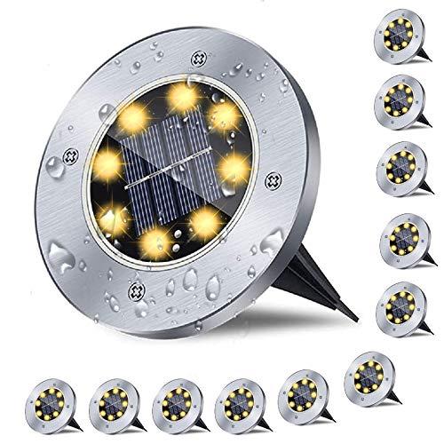 12er Solar Bodenleuchten , Solarlampen f¨¹r...
