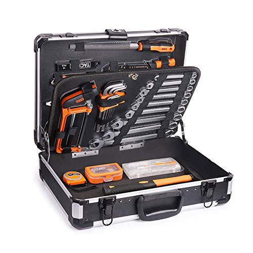Werkzeug TACKLIFE-Werkzeugkoffer, 136-tlg,...