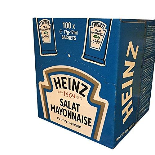 Heinz Salat Mayonnaise Portionsbeutel 100 x 17 ml