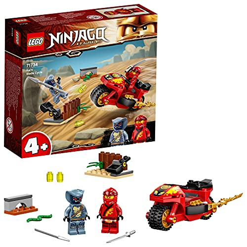 LEGO 71734 NINJAGO Kais Feuer-Bike, Motorrad...