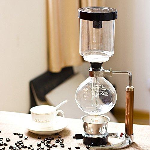 TAMUME 5 Tasse Kaffee Syphon Maschine Vakuum...