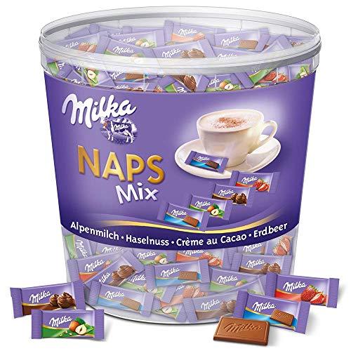 Milka Naps Mix 1 x 1kg Dose, Zartschmelzende...
