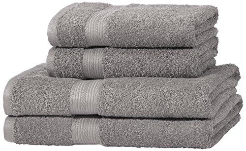 AmazonBasics Handtuch-Set, ausbleichsicher, 2...
