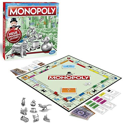 Hasbro Gaming C1009100 Monopoly Classic,...
