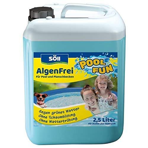 Söll 14709 AlgenFrei Pool Fun Algenmittel...