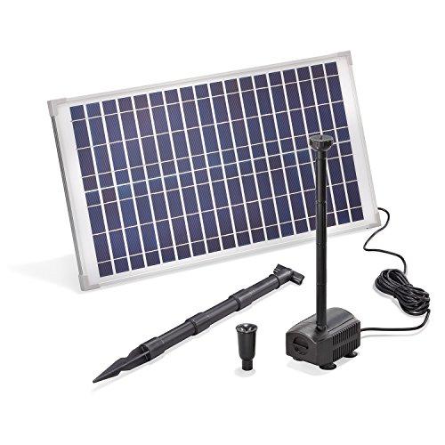 Solar Teichpumpe 25 Watt Solarmodul 875 l/h...