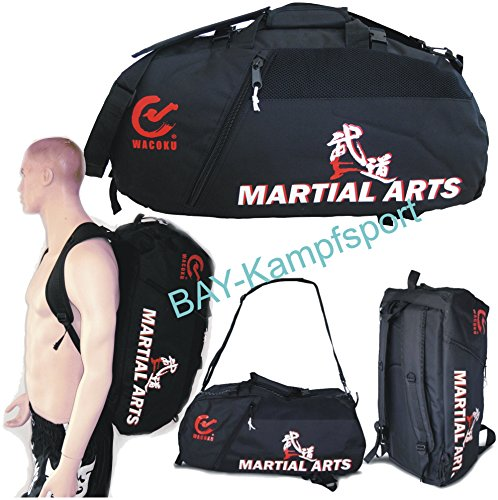 BAY XL Sporttasche 'Martial Arts' im Rucksack Syte...