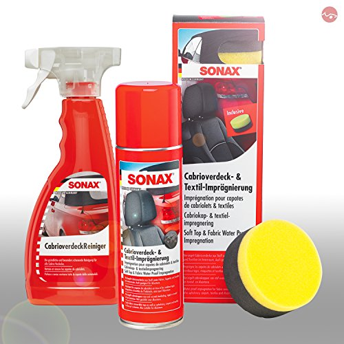 SONAX CabrioverdeckReiniger 500ml + Cabrioverdeck-...