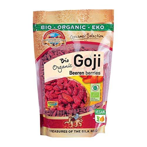 Bio Goji Beeren extra groß 500g Gojis Gojibeeren...