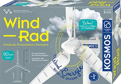 KOSMOS 620592 Wind-Rad Experimentierkasten,...