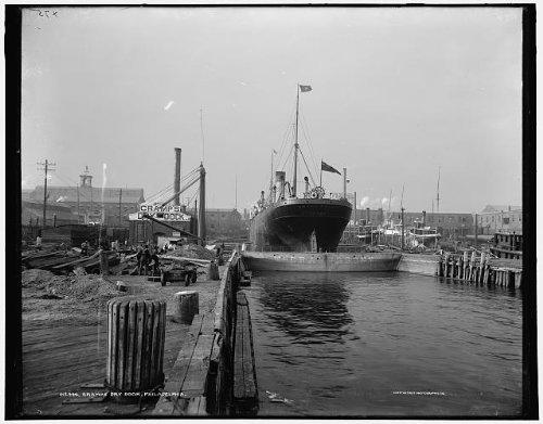 Infinite Photographs Foto: Krampf 's Dry Dock,...