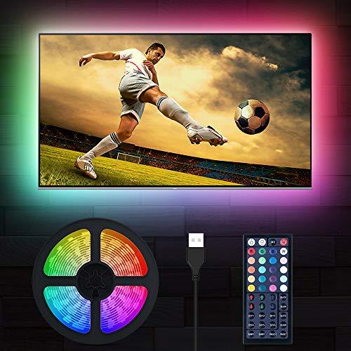 LED TV Hintergrundbeleuchtung, MustWin 3M USB RGBW...