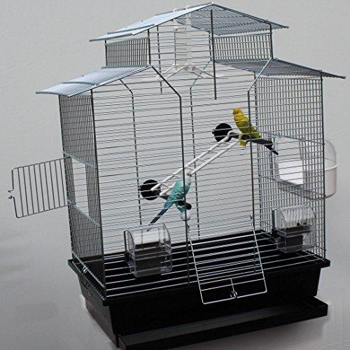 Vogelkäfig,Wellensittichkäfig,Exotenkäfig,60 cm...