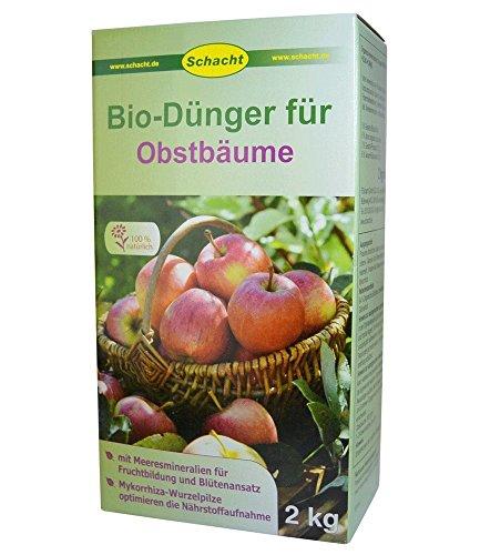 SCHACHT BIO-Dünger für Obstbäume,...