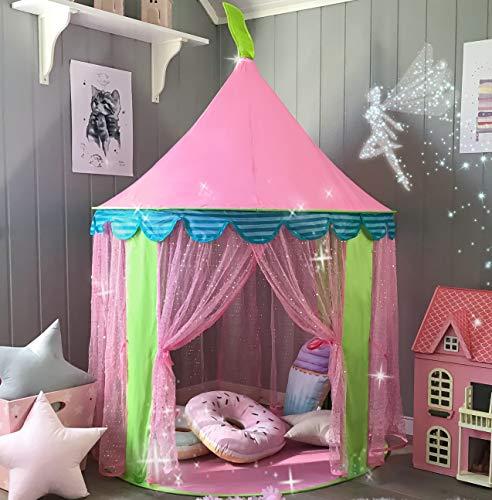 Kinderzelt Prinzessin Spielzelt für Mädchen -...