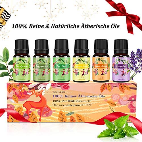 Aromatherapie Ätherische Öle Geschenkset für...