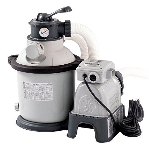 Intex Krystal Clear Sand Filter Pump -...