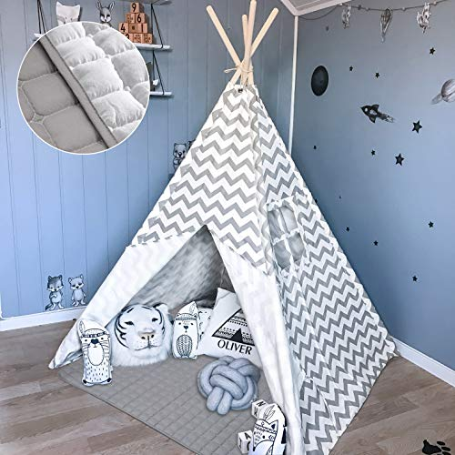 Tiny Land Tipi Spielzelt für Kinder Kinderzimmer...