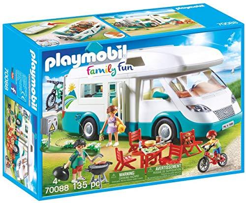 Playmobil Family Fun 70088 Familien-Wohnmobil, Ab...