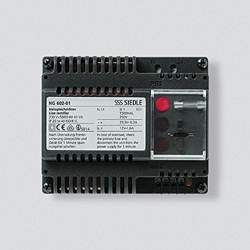 Siedle 2543973 Netzgleichrichter 230 V/50-60 Hz,...
