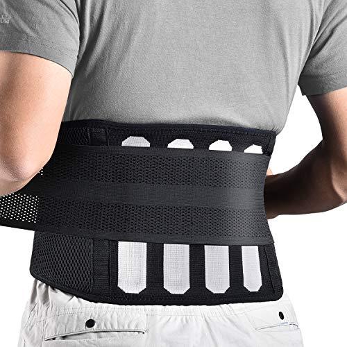 FREETOO Rückenbandage mit Stützstreben...