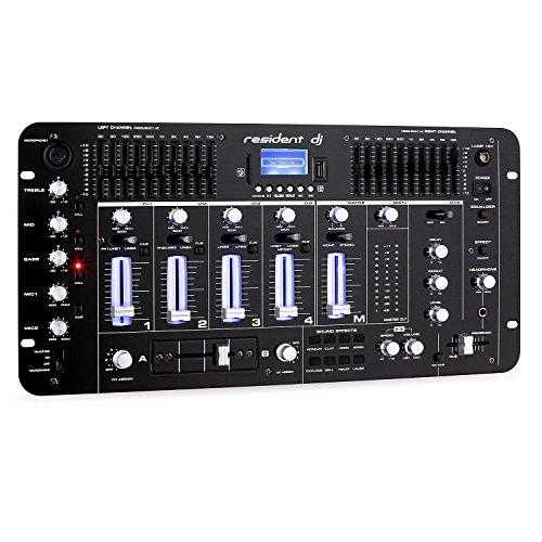 resident dj Kemistry 3BK - DJ-Mixer, 4-Kanal...