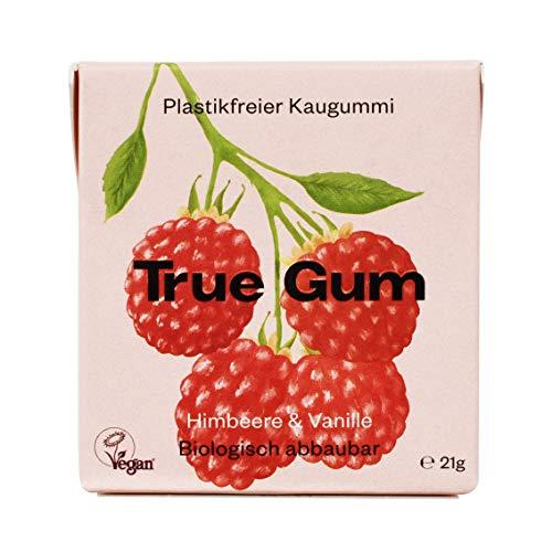 True Gum Himbeere & Vanille | Plastikfreier...