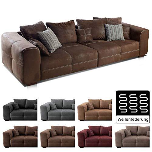 Cavadore Big Sofa Mavericco / Große Polster Couch...