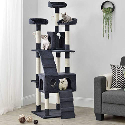 Sam´s Pet Katzen Kratzbaum Amy | grau | 170 cm...