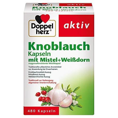 Doppelherz Knoblauch Kapseln mit Mistel +...