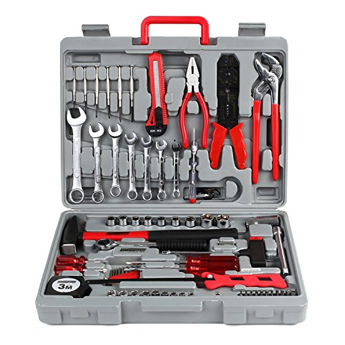FIXKIT Werkzeugset im Koffer, 555 teilig...