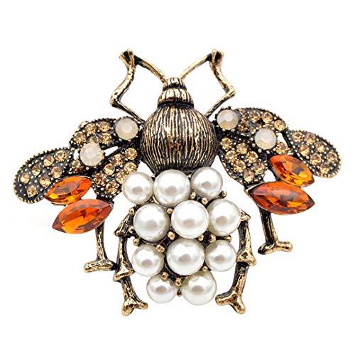 3 Farben wählen Perlen und Strass Big Bee...