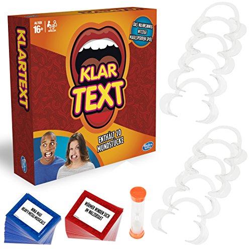 Hasbro Gaming C2018398 - Klartext Partyspiel...