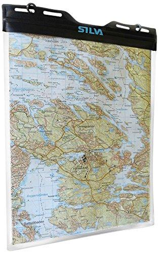 Silva Kartenhülle Dry Map Case L, Transparent,...