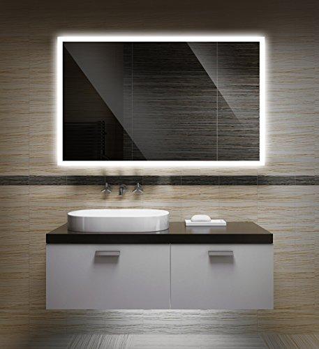 Badezimmerspiegel mit Beleuchtung LED Spiegel -...