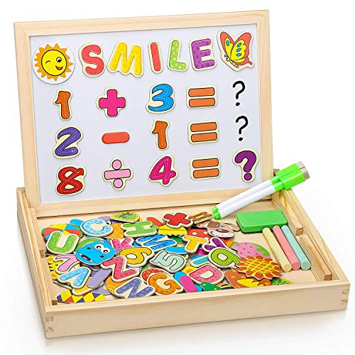 Dookey Magnetisches Holzpuzzles, Magnetic Puzzle...