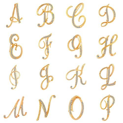 1 PC-Mode Unisex-Strass Englisch Letters Alphabet...