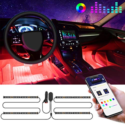 LED Innenbeleuchtung Auto, Govee Auto LED Strip...