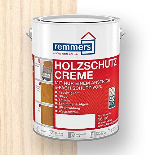 Remmers Holzschutz-Creme (750 ml, weiß)