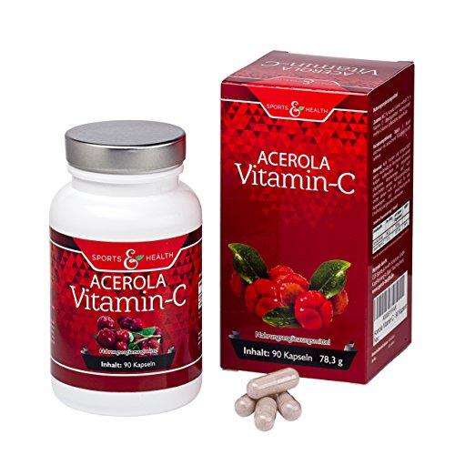 Acerola Vitamin C Mit Natürlichem Vitamin C - 750...
